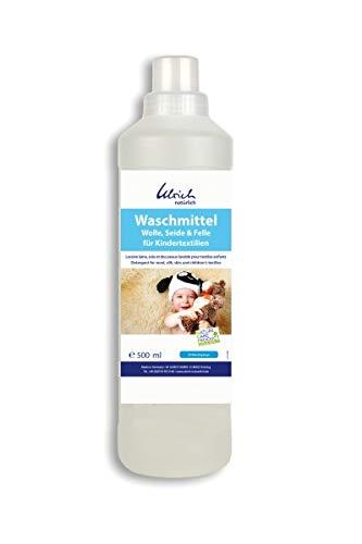 Waschmittel Wolle, Seide und Felle 500 ml, rückfettend - für Kindertextilien