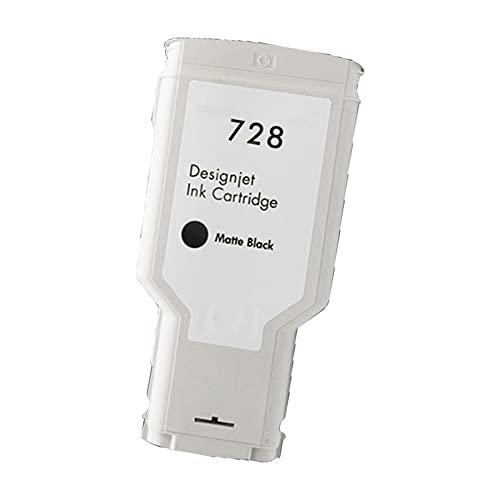 SVUZU Compatible Los Cartuchos De Tinta para HP 728 XL, Reemplazo De Trabajo De Alto Rendimiento para HP DesignJET T830 T730 Plotter Matte Black