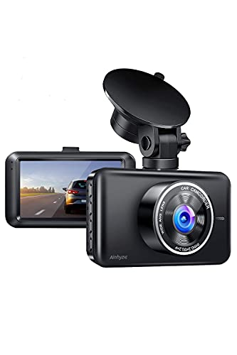 Ainhyzic Dash Cam 1080P Dash Camera for Cars Front with 3-Inch LCD...