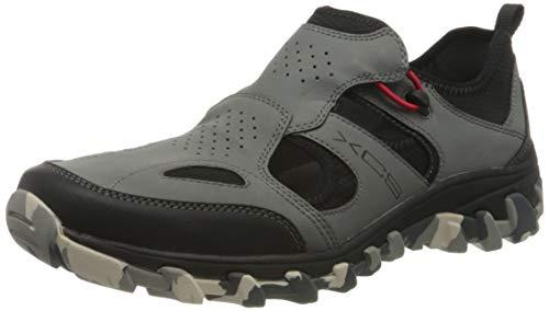 Rockport Cold Springs Plus Sandal Shoe, Bout fermé Homme, Gris 002, 42 EU