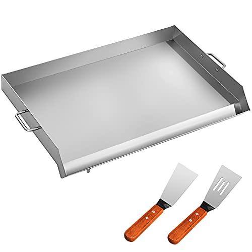Moracle Bandeja Barbacoa Plancha Superior Plana Universal Plancha BBQ para Restaurante o Uso Doméstico (81x43CM)