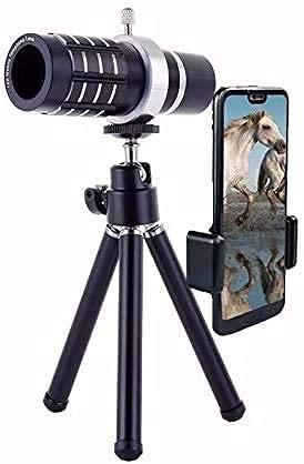 4K 10-300x40mm Super Telephoto Zoom Monocular Telescope,Portable Pocket HD Prism Tripod Waterproof Phone Telescope for Bird Watching/Hunting/Camping/Hiking