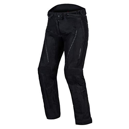 REBELHORN Hiker III Textile Motorradhose für Frauen Membran-Knieschützer rutschfeste Paneele Reflektierende Elemente 4 Lüftungskanäle 2 Taschen