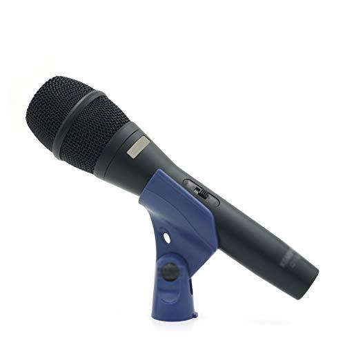 Diaod Micrófono de Mano con micrófono dinámico con Voz en Vivo Profesional con Interruptor de Encendido/Apagado para grabación de Estudio de Karaoke