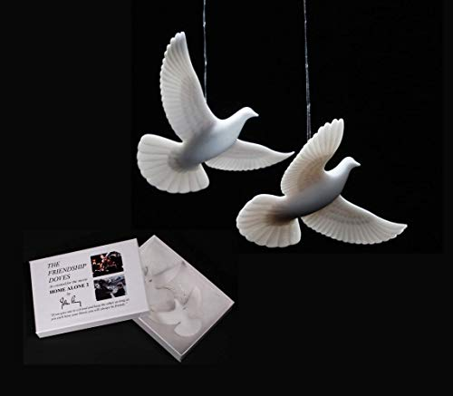 HOME ALONE 2 DOVES AUTHENTIC & GENUINE made in the USA direct from artist John Perry who made them for the movie