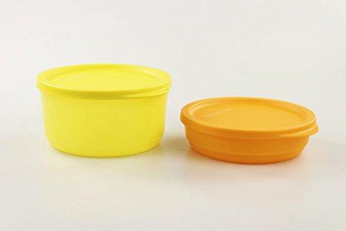 TUPPERWARE Kühlschrank Geburtstagskracher 530 ml gelb+200 ml orange