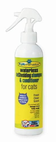 Furminator - Waterless deShedding Shampoo and Conditioner for Cats