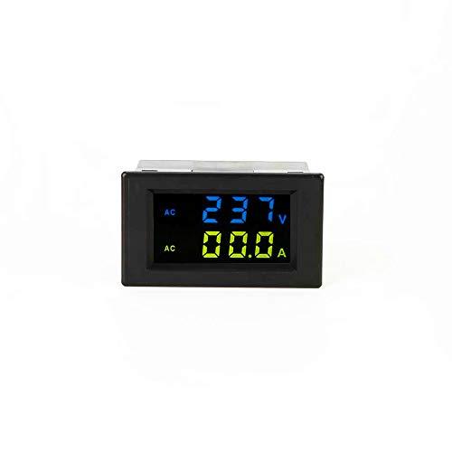 KKmoon D85-2042A Doppelte Digitalanzeige LCD Voltmeter Amperemeter AC 80-500V Spannungsmesser Stromzähler Tester