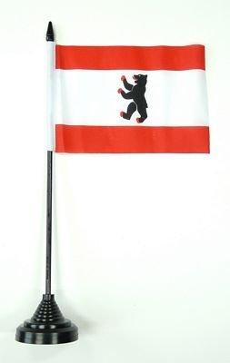 Fahne / Tischflagge Berlin NEU 11 x 16 cm Flaggen