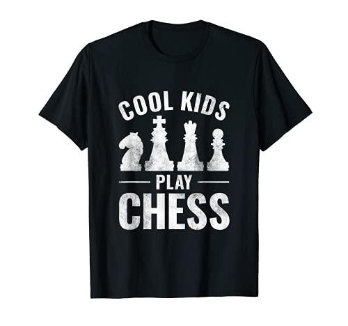 Los niños guays juegan al ajedrez Camiseta