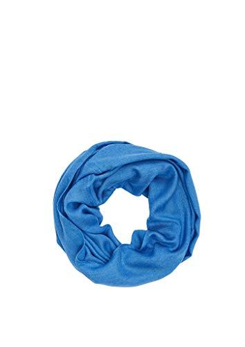 s.Oliver Damen 39.912.91.6040 Mütze, Schal & Handschuh-Set, Blau (Royal Blue 5525), One Size (Herstellergröße: 1)