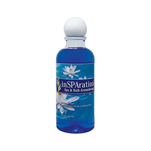 inSPAration Spa and Bath Aromatherapy 105X Spa Liquid, 9-Ounce, Joy