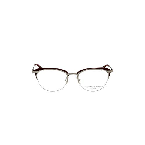 Barton Perreira Luxury Fashion Damen BISSETBLOSIL Silber Metall Brille   Jahreszeit Permanent