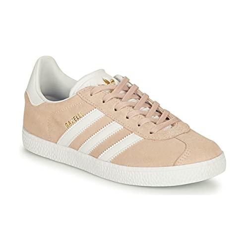 adidas Gazelle J, Chaussure de Course, Pink Tint FTWR White FTWR White, 38 2/3 EU