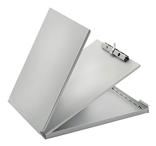Adams Forms Holder, Bottom Hinge, 8.5 x 12 Inches, Aluminum (AFH13)