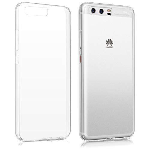 kwmobile Funda Compatible con Huawei P10 - Carcasa para móvil - Protector Trasero en Transparente