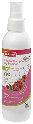 beaphar Bio Trocken-Shampoo für Hunde und Katzen, sanfte Pflege und Reinigung des Fells ohne Wassser, 200 ml
