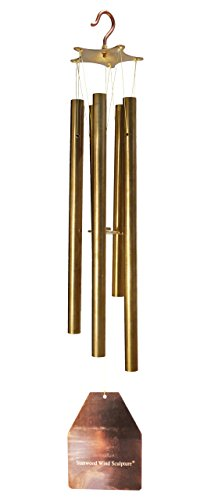 Stanwood Wind Sculpture - Brass and Copper Wind Chime