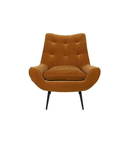 Dutchbone stoel, design dutchbone / kleur / overtrek 80 % katoen, 20 % polyester, beschermhoes van eucalyptushout met schuimstof, ontwerp van Dutchbone 80x79,5x83,5 cm Kameel.