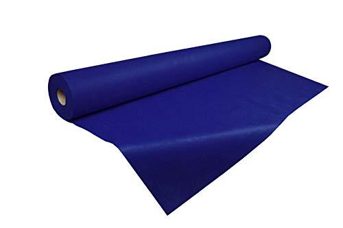 Tejido sin tejer,  10 metros de Tejido no tejido 55gr./m,  Varios colores,  TST,  TNT (Azul)
