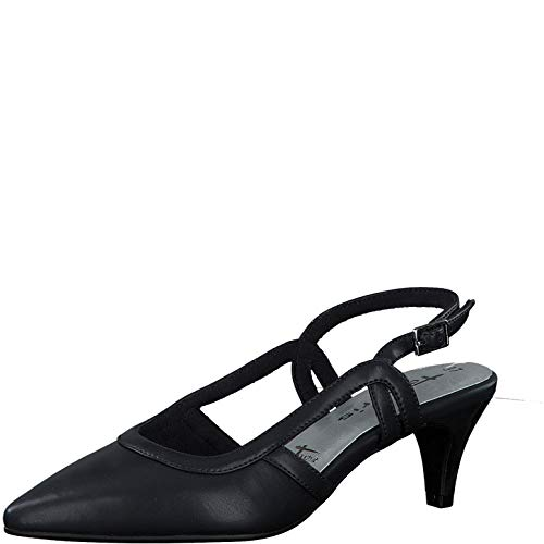 Tamaris Damen Pumps 29620-24, Frauen Sling-Pumps, Women Woman Hochzeit heiraten Feier Party Slingback modisch Fashion Damen Frauen,Navy,36 EU / 3.5 UK