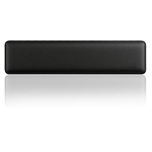 Upgraded Keyboard Wrist Rest Pad - Comfortable Lightweight Memory Foam Wrist Rest Pad for Wrist Hand Rest Perfect for Gaming, Office (Black-B)