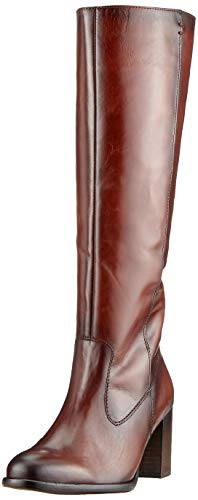 Gabor Shoes Damen Basic Hohe Stiefel, Braun (Sattel (Effekt) 22), 39 EU