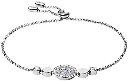 Fossil Women's Stainless Steel Silver-Tone...