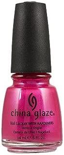 China Glaze Nail Lacquer With Hardeners - 14 Ml, Limbo Bimbo, 0.5 fl oz Pink
