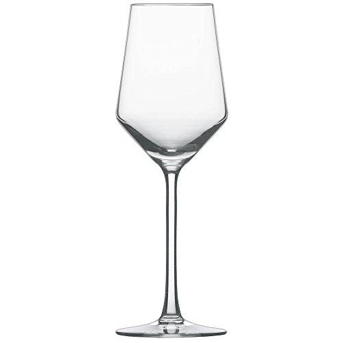 Schott Zwiesel 112414 Serie Pure 6-teiliges Riesling Weißweinglas Set, Kristallglas