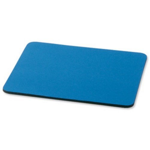 5 Star Mouse Mat with 6mm Rubber Sponge Backing 248x220mm Blue