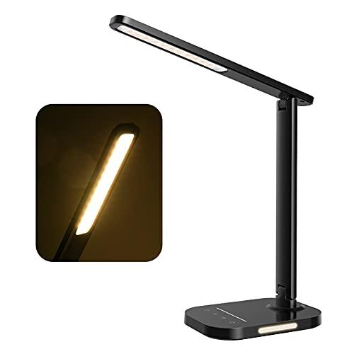 Lampada da Tavolo con 44 LED 5 Colori & 10 Modalità di Luminosità
