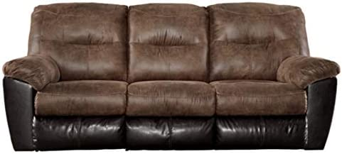 Best Signature Design by Ashley Follett Reclining Sofa Coffee
