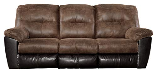 Signature Design by Ashley Follett Reclining Sofa Coffee