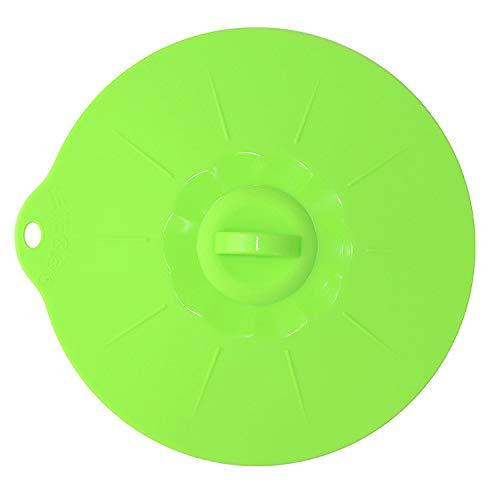 SLXTDGMZ Cubierta de Silicona en la Cubierta de desbordamiento/Cubierta de preservativo/Olla/Horno de Seguridad, Cubierta de Silicona antidesbordamiento en Lugar de película de plástico