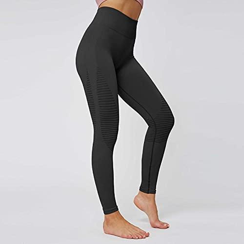 ShFhhwrl Mujer Leggins Pantalones De Yoga Sin Costuras para Mujer, Mallas Deportivas De Cintura Alta para Entrenamiento De Mujer, Mallas Ajustadas para Gimnasi