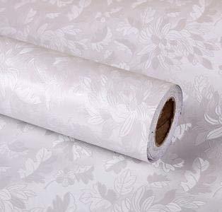 Byrhgood 60 cm * 2.5M Papel Tapiz Enrollado Profundo Damask Papel de Pared Lujo 3D Autoadhesivo Papel Pintado Rollo de Las calcomanías para el sofá de TV telón de Fondo (Color : Style2)