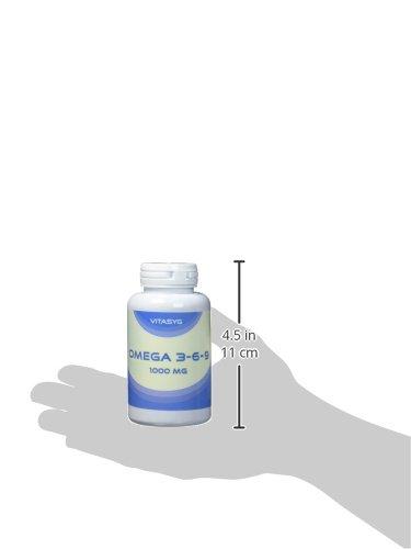 Vitasyg Omega 3 6 9 + Vitamin E – 100 hochdosierte Softgel Kapseln - 4