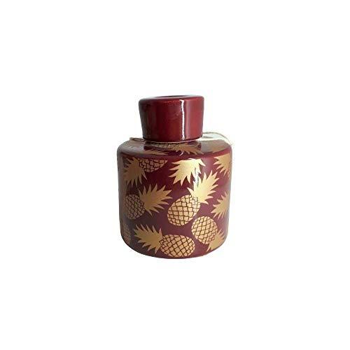 Dea Kapodonne Diffusor D Ambiente Flasche Aroma 10 x 8 cm Ananas Bordeaux