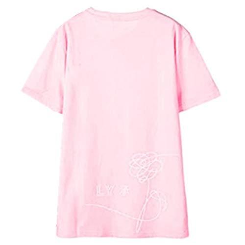 SERAPHY WOOKIT Unisex KPOP T-Shirt Love Yourself Birthday Tshirts Suga Jin Jimin Jung Kook J-Hope Rap-Monster V Rosa M