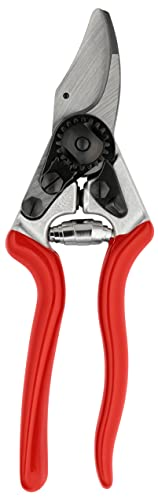FELCO Gartenschere für Linkshänder Nr. 16 (kompakte Baumschere, Schere für mittelgroße Hände, Schnitt-ø 20 mm, Länge 195 mm, Rebschere) FELCO 16