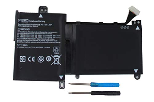 Shareway HV02XL Laptop Battery for HP Pavilion X360 11.6 11-K Series 796219-421 796355-005 TPN-W112 TPN-Q164 HSTNN-LB6P HSTNN-UB6N [7.6V 32Wh] - 12 Months Warranty!