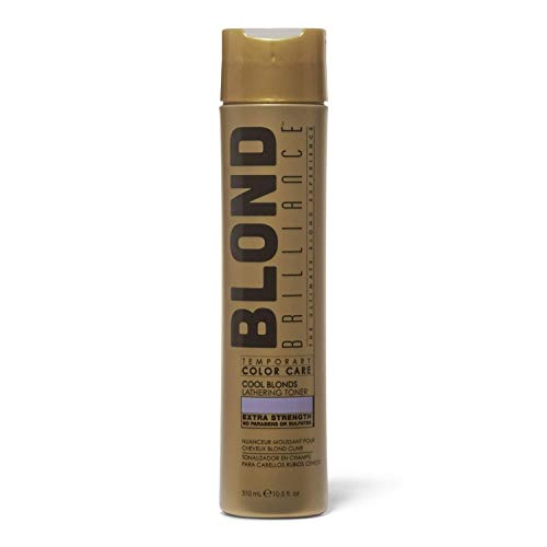 Blond Brilliance Temporary Color Care Lathering Cool Blond Hair Toner, 10.5oz
