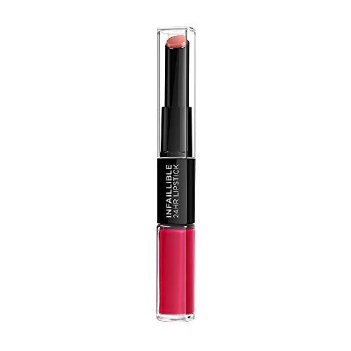 L'Oréal Paris Lippenstift Indefectible 701 Captivated by Cerise, 1er Pack