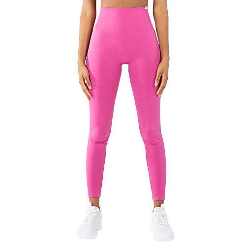 SMILODOX Damen Leggings Alive | Leggings für Sport Fitness Gym Training & Freizeit | Sporthose - Workout Trainingshose, Größe:S, Farbe:Pink
