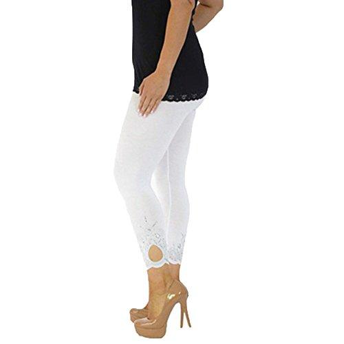 Skang Leggins de Mujer Impreso Elásticos Impreso Pantalón Deportivo Pantalones de Yoga...