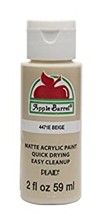 Apple Barrel Acrylic Paint in Assorted Colors (2 oz), 4471E, Beige (B0728B4CPG) | Amazon price tracker / tracking, Amazon price history charts, Amazon price watches, Amazon price drop alerts