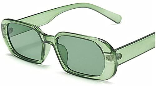 Rectangle Sunglasses for Women Retro Driving Glasses 90's Vintage Fashion Narrow Square Frame UV400 Protection