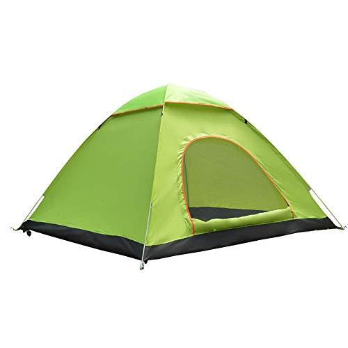 Busirsiz Tienda al aire libre 3-4 personas totalmente automática tienda familiar, camping salvaje tienda de playa fácil de instalar, adecuado para exteriores, senderismo y