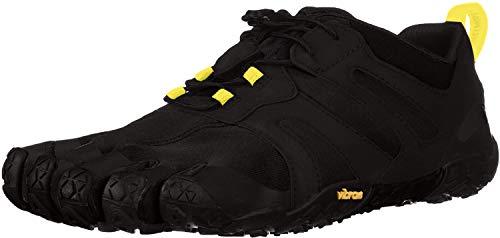 Vibram Fivefingers 19M7601 V 2.0, Zapatillas de Trail Running Hombre, Negro y Amarillo, 47 EU